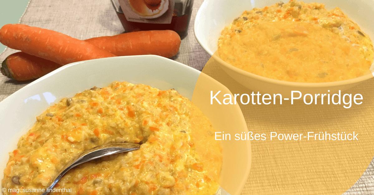 Karotten-Porridge-Power-Frühstück