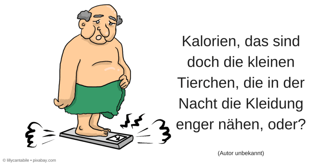 Übergewicht Kalorien