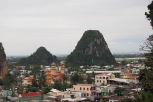 Blick auf die Marmorberge, Danang