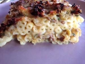 Wirsing-Macaroni-Auflauf, einfach ein Genuss